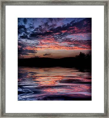 Framed Print featuring the photograph After The Storm by Rick Friedle