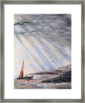 After The Storm Framed Print by Sherlyn Andersen