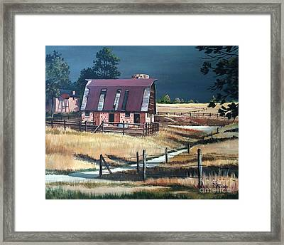 After The Storm Framed Print by Suzanne Schaefer