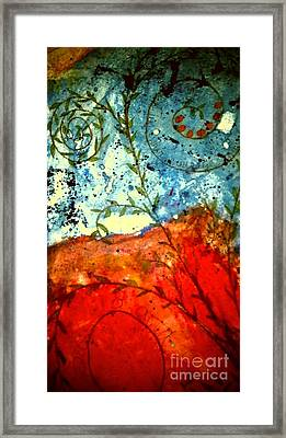 After The Storm The Dust Settles Framed Print by Angela L Walker