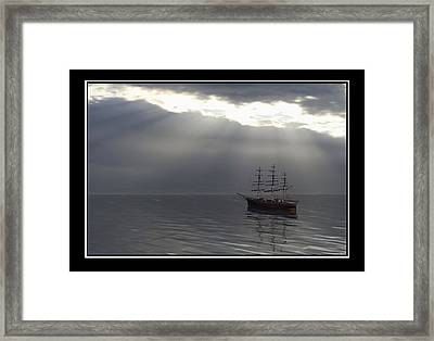 After The Storm Framed Print by William  Ballester
