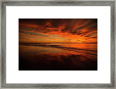 After The Sun Framed Print