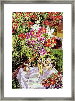 After The Tea Party Framed Print