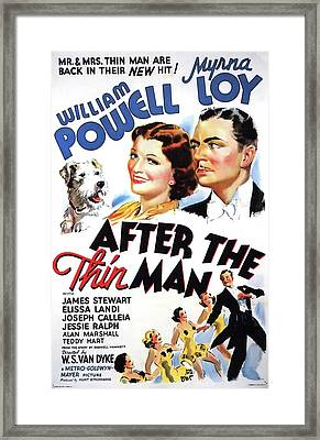 After The Thin Man 1936 Framed Print