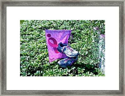 After The Three Day Walk Framed Print