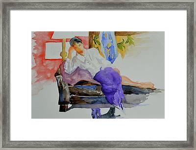 After Work Framed Print by Beverley Harper Tinsley