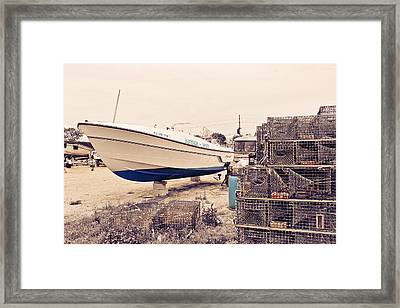 After You Framed Print by Colleen Kammerer