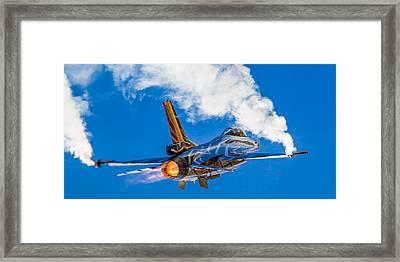 Afterburn Framed Print by Ian Schofield
