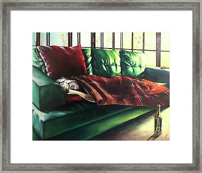 Aftereffects Framed Print by Alessandra Andrisani