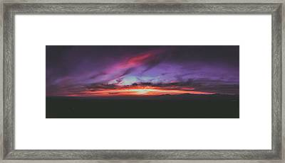 Afterglow 1 Framed Print by Lonnie Christopher