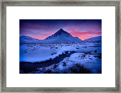Afterglow Framed Print by Peter OReilly