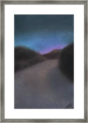 Afterglow Framed Print by Robin Street-Morris