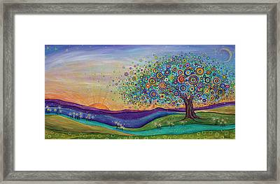 Afterglow - This Beautiful Life Framed Print