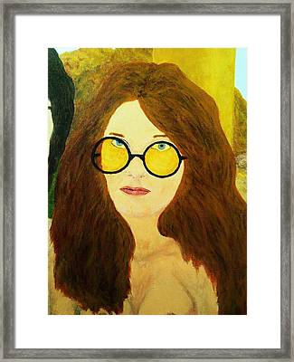 Afterlife Concerto Janis Joplin Framed Print