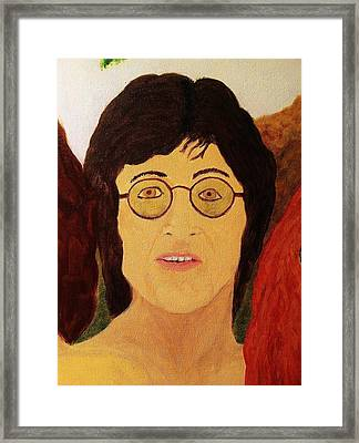 Afterlife Concerto John Lennon Framed Print