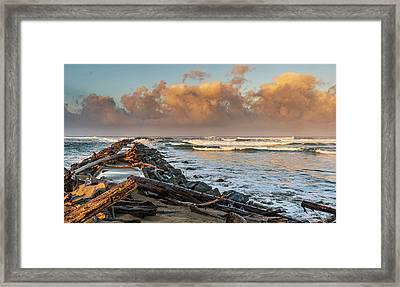 Aftermath And Prelude Framed Print