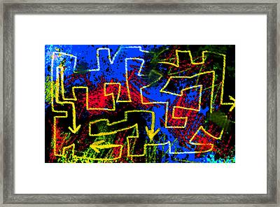 Aftermath Of Zoroaster  Framed Print by Paul Sutcliffe