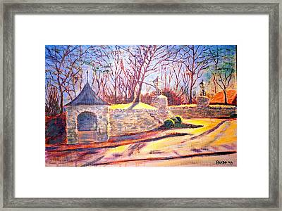 Afternoon At Clayton Road Framed Print by Horacio Prada