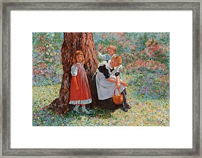 Afternoon Break Framed Print by Dominique Amendola