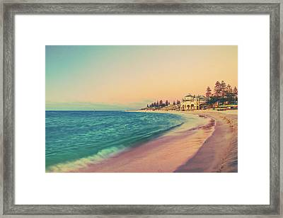 Afternoon Chill Framed Print