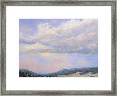 Afternoon Delight Framed Print by Debra Mickelson