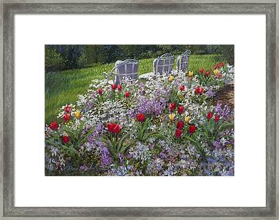 Afternoon Delight Framed Print by L Diane Johnson