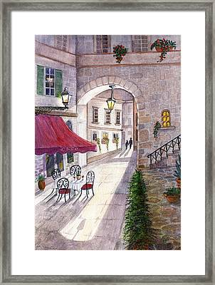 Afternoon Delight Framed Print by Marilyn Smith