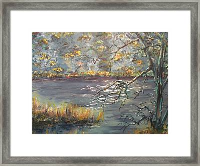 Framed Print featuring the painting Afternoon Getaway by Dan Whittemore