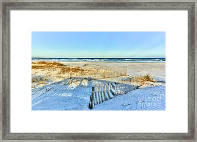 Afternoon Glow Framed Print by Michelle Wiarda