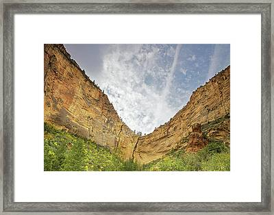 Afternoon In Boynton Canyon Framed Print