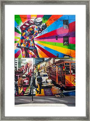 Afternoon In Chelsea Framed Print