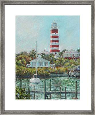 Afternoon In Hope Town Framed Print