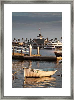 Afternoon Light Balboa Island Framed Print by Cliff Wassmann