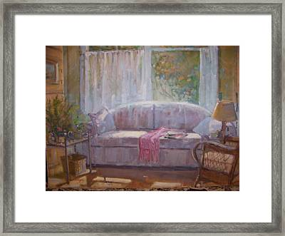 Afternoon Light. Framed Print