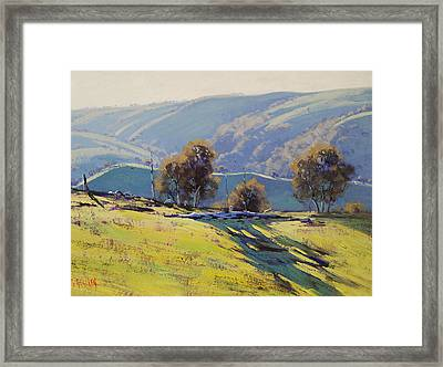 Afternoon Light Lithgow Framed Print