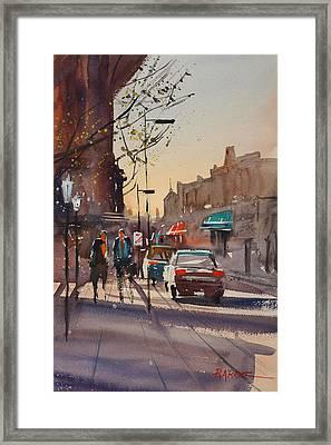 Afternoon Light Framed Print