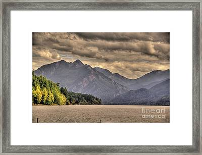 Afternoon Mountain View Framed Print