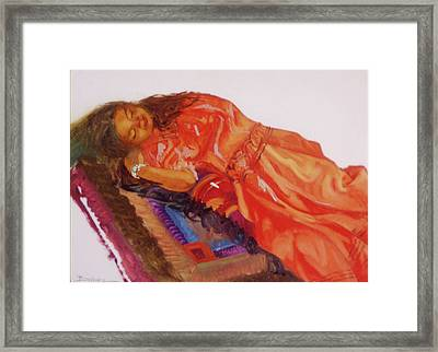 Afternoon Nap Framed Print