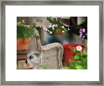 Afternoon Nap Framed Print by Ken Barker