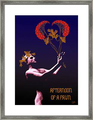 Afternoon Of A Faun Framed Print