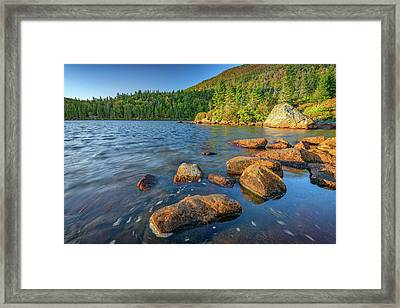 Afternoon On Tumbledown Mountain Framed Print