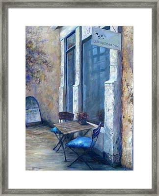 Afternoon Reflections Framed Print