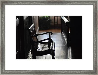 Afternoon Rest Framed Print by Maria Suhr