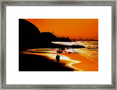 Afternoon Romance Framed Print by Az Jackson