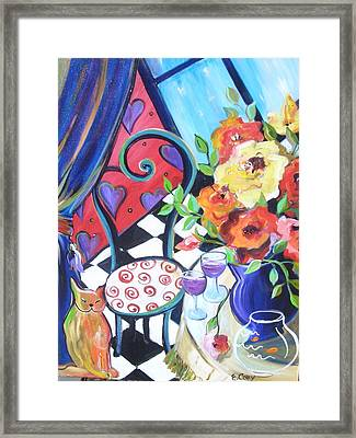 Afternoon Romance Framed Print by Elaine Cory