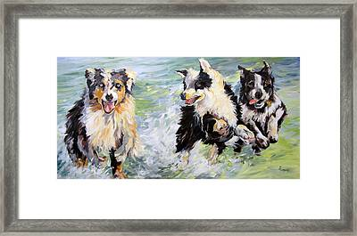 Afternoon Romp Framed Print