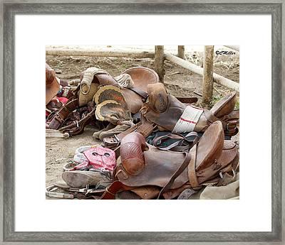 Afternoon Social.. Framed Print by Carol Miller