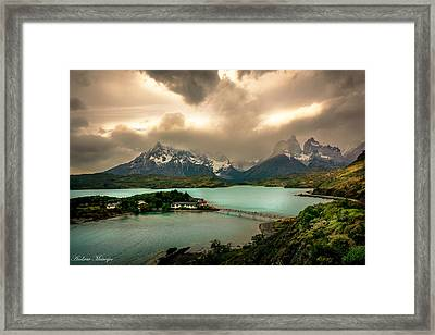 Afternoon Storm Framed Print by Andrew Matwijec