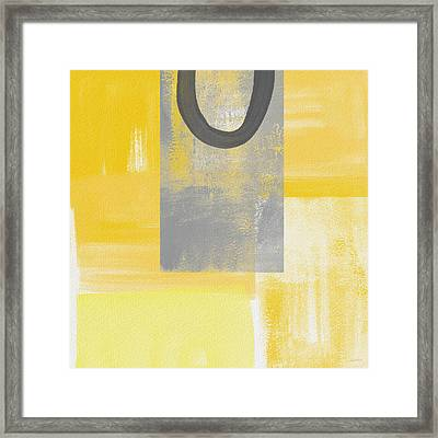 Afternoon Sun And Shade Framed Print by Linda Woods