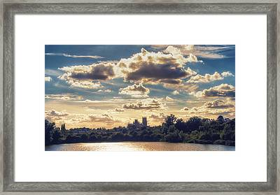 Afternoon Sun Framed Print